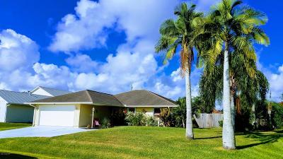 Sebastian Single Family Home For Sale: 944 George Street