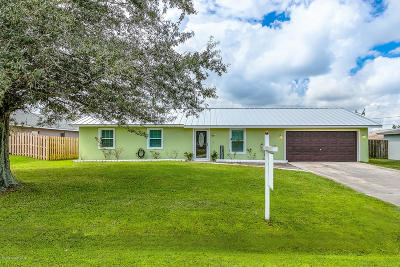 Palm Bay FL Single Family Home For Sale: $179,982