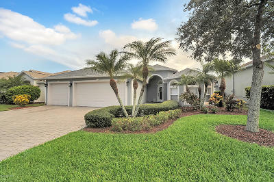 Viera Single Family Home For Sale: 1988 Auburn Lakes Drive