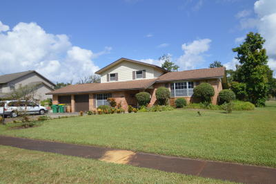 Titusville Single Family Home For Sale: 4490 Bowstring Court