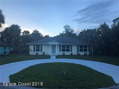 Vero Beach Single Family Home For Sale: 1066 35th Avenue SW