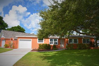 Satellite Beach Single Family Home For Sale: 241 NE Second Terrace