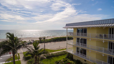 Viera, Melbourne, Melbourne Beach, Indialantic, Satellite Beach, Indian Harbour Beach, Cocoa Beach, Eau Gallie, West Melbourne, Cape Canaveral Condo For Sale: 1 Eighth Avenue #1202