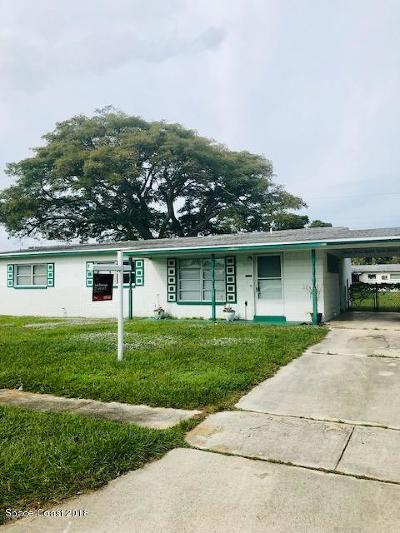 Cocoa Single Family Home For Sale: 2016 Cooper Drive