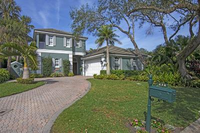 Indian River Shores FL Single Family Home For Sale: $950,000