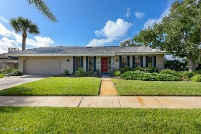 Indialantic Single Family Home For Sale: 259 Sand Pine Road
