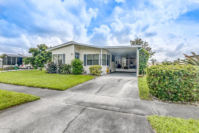 Titusville Single Family Home For Sale: 337 San Mateo Boulevard