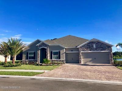 Merritt Island Single Family Home For Sale: 5240 Hebron Drive
