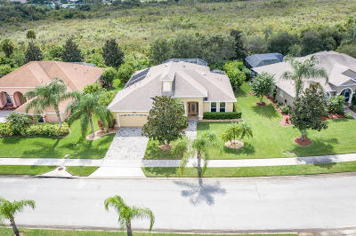 Rockledge Single Family Home For Sale: 1627 Auburn Lakes Drive