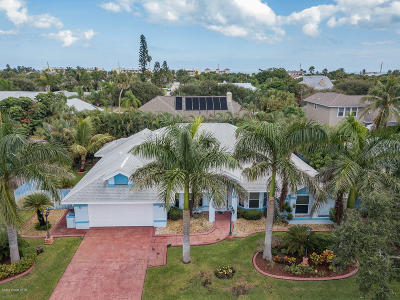 Indialantic Single Family Home For Sale: 107 Tradewinds Terrace