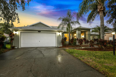 Melbourne Single Family Home For Sale: 3232 Windsor Estates Drive