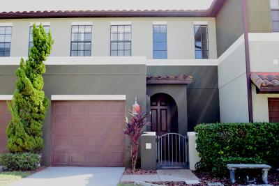 Satellite Beach Townhouse For Sale: 753 Ventura Drive
