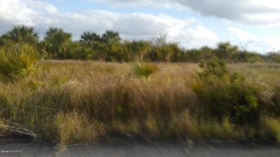 Brevard County Residential Lots & Land For Sale: 1440 Montecito Street SW
