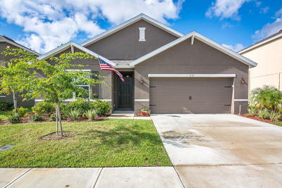Rockledge Single Family Home For Sale: 1105 Swiss Pointe Lane