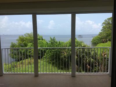 Merritt Island Condo For Sale: 480 Sail Lane #107