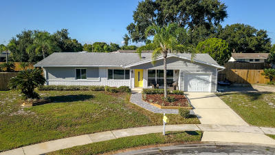 Palm Bay Single Family Home For Sale: 864 Vance Circle NE