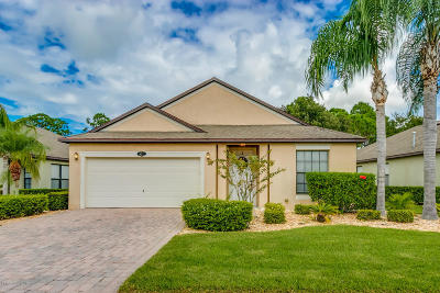 Palm Bay FL Single Family Home For Sale: $429,900