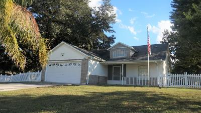 Palm Bay Single Family Home For Sale: 1798 Pace Drive NW