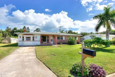Satellite Beach Single Family Home For Sale: 461 First Avenue
