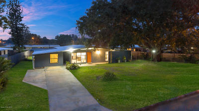 Rockledge Single Family Home For Sale: 1021 George Avenue