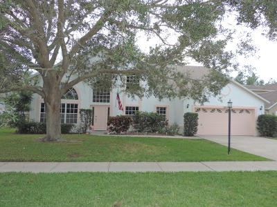 Melbourne Single Family Home For Sale: 2618 Lowell Circle