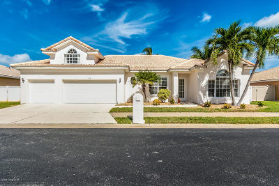 Melbourne Beach Single Family Home For Sale: 184 Captiva Court