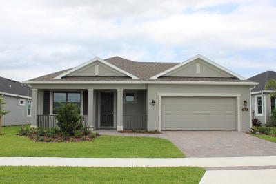 Melbourne FL Single Family Home For Sale: $327,919