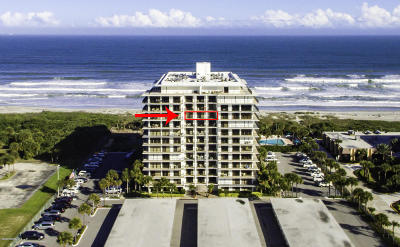 Cocoa Beach Condo For Sale: 2100 N Atlantic Avenue #1007