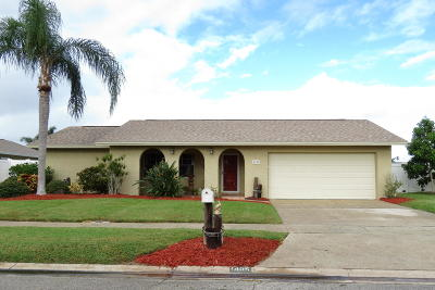 Merritt Island Single Family Home For Sale: 1405 Taurus Court