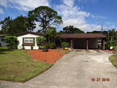 Rockledge Single Family Home Contingent: 954 Kings Post Road