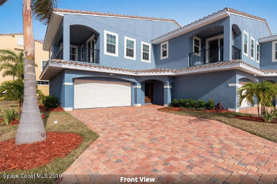 Indian Harbour Beach Townhouse For Sale: 152 Mediterranean Way