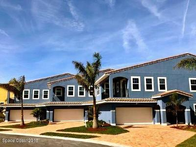 Indian Harbour Beach Townhouse For Sale: 156 Mediterranean Way