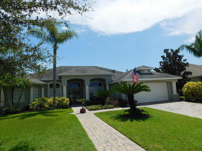 Rockledge Single Family Home For Sale: 866 Thrasher Drive