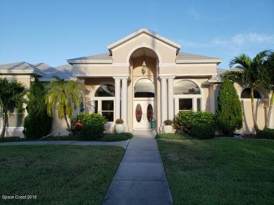 Indialantic Single Family Home For Sale: 131 Cambridge Court