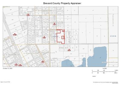 Mims Residential Lots & Land For Sale: 2530 Bethune Avenue