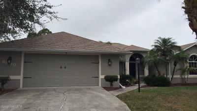 Cocoa Single Family Home For Sale: 6890 Hundred Acre Drive