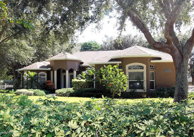 Merritt Island Single Family Home For Sale: 950 Maple Ridge Drive