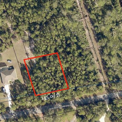 Mims Residential Lots & Land For Sale: Golden Shores Blvd