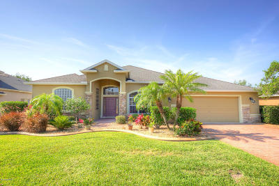 Rockledge Single Family Home For Sale: 3701 Chardonnay Drive