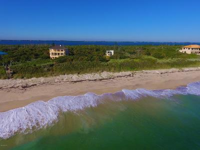 Melbourne Beach Single Family Home For Sale: 8565 S Highway A1a