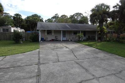 Cocoa Single Family Home For Sale: 4065 Vancouver Avenue