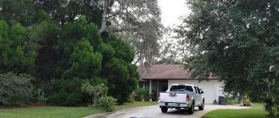 Sebastian Single Family Home For Sale: 815 Robin Lane