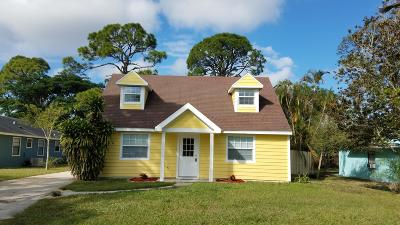 Vero Beach Single Family Home For Sale: 3136 2nd Street