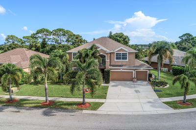 Rockledge Single Family Home For Sale: 4090 Orion Way