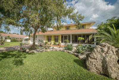 Indialantic Single Family Home For Sale: 1105 Magnolia Drive