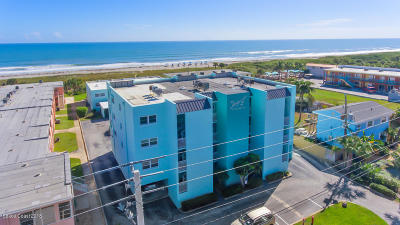 Cocoa Beach Condo For Sale: 3610 Ocean Beach Boulevard #203A