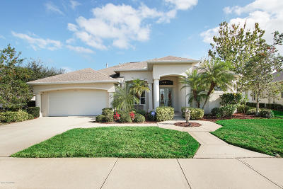 Rockledge Single Family Home For Sale: 1230 Starling Way