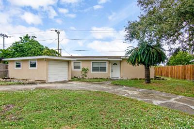 Melbourne FL Single Family Home For Sale: $170,000