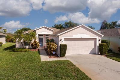 Melbourne FL Single Family Home For Sale: $230,000