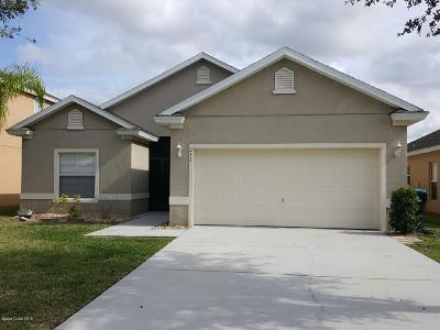 Palm Bay FL Single Family Home For Sale: $219,900